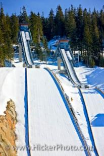 photo of 2010 Winter Games Ski Jumps Whistler Olympic Park Nordic Sports Venue