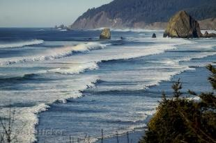 photo of Pacific Ocean Image Oregon Coast
