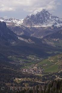 photo of View Passo Valparola Sorega Italy South Tirol Europe