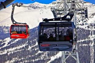 photo of Peak 2 Peak Gondola Whistler Blackcomb Mountains British Columbia Canada