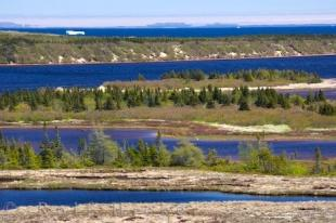 photo of Pinware River Mouth Islands Southern Labrador