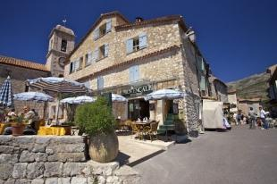 photo of Provencale Restaurant Gourdon Alpes Maritimes Provence