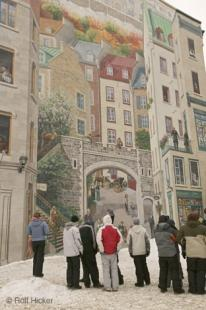 photo of Artistic House Mural Quebec City