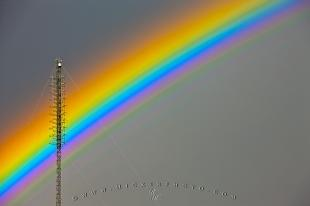 photo of Beautiful Rainbow Colors Regina Saskatchewan Canada