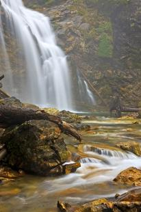 photo of Waterfall Rainbow Falls Monashee Provincial Park