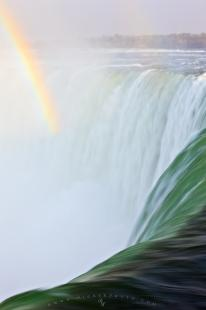 photo of Rainbow Picture Waterfall Niagara Falls Ontario