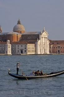 photo of Romantic Image Gondola And Beautiful Church Architecture Venice Veneto