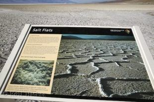 photo of Salt Flats Sign