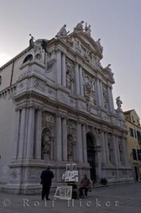photo of Santa Maria Zobenigo Church Venice Italy