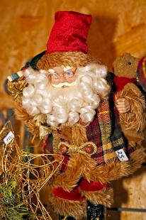 photo of Santa Ornament Hexenagger Castle Germany