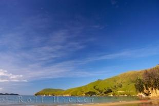 photo of Scenic Bay Marlborough Sounds New Zealand