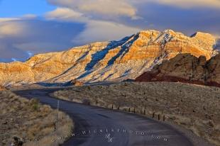 photo of Scenic Road Drive Red Rock Canyon Landscape