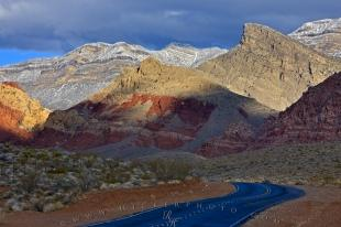 photo of Scenic Road Red Rock Canyon Nevada