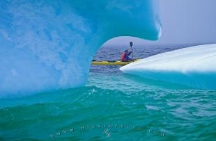 photo of Ocean Sea Kayaking Trip Iceberg Newfoundland