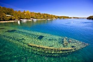 photo of Shipwreck Fathom Five National Marine Park Ontario Canada