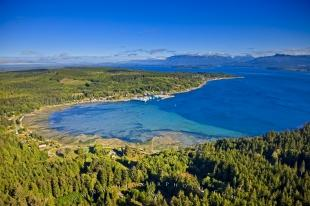 photo of Sointula Malcolm Island Aerial British Columbia Canada