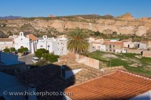 photo of Town Of Sorbas Costa De Almeria Andalusia Spain