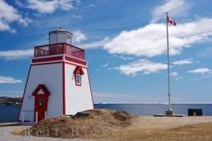 photo of St Anthony Harbour Lighthouse Newfoundland Canada
