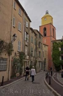 photo of Eglise Notre Dame Rue Saint Jean Old Town St Tropez Provence