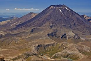 photo of Stratovolcano Ngauruhoe Tongariro National Park