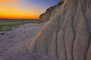 photo of Sublime Landscape Sunset Photography Castle Butte Formations