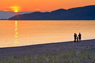 photo of Sunset Beach Walk Lake Superior