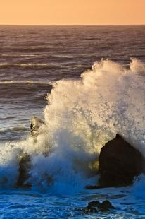 photo of Sunset Waves Tasman Sea