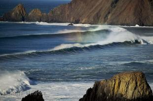 photo of Pacific Ocean Surf Photo