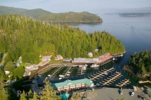 photo of Telegraph Cove Aerial Picture Vancouver Island Canada