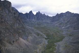 photo of Tombstone Mountains Yukon