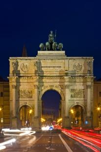 photo of Victory Gate Triumphal Arch Munich Bavaria