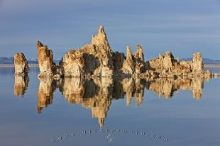 photo of Lake Tufa Towers Rock Formations