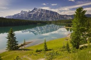 photo of Two Jack Lake Banff National Park Alberta Canada