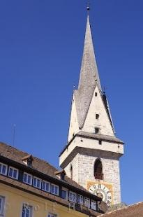photo of Ursuline Church Bell Tower Italian Town