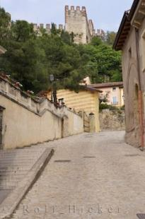 photo of Veneto Castle Soave Village Lane Italy
