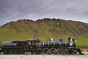 photo of Vintage Steam Train Kingston Flyer NZ
