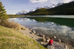 photo of Waterfowl Lake Banff Np