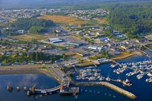 photo of Waterfront Port McNeill Town