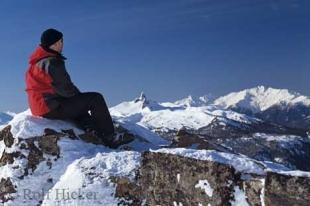 photo of Tourist Relaxing Winter Whistler