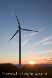 photo of Wind Turbine Power Energy Casares Spain Europe