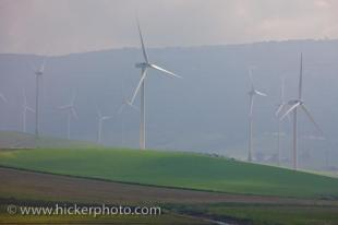 photo of Wind Turbines Zahara De Los Atunes Cadiz Andalusia Spain