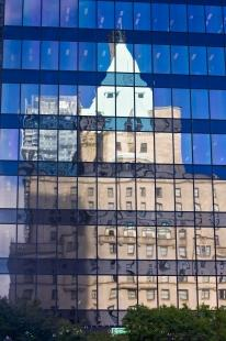 photo of Office Building Windows Dowtown Vancouver