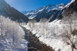 photo of Snow Scene Winter Wonderland Wildgerlostal Salzburger Land Austria