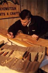 photo of Wood Carver Duncan