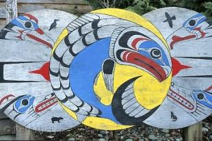 photo of Wooden Art First Nations Canada
