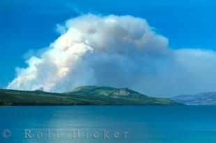 photo of Yukon Forest Fire