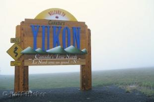 photo of Yukon Highway Sign