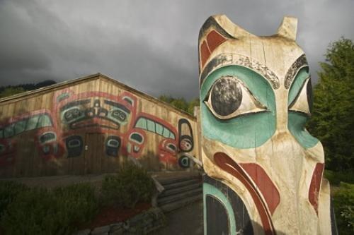 Photo:  totem pole ketchikan