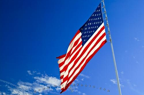 american flag pictures. Photo of a large USA Flag