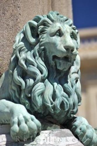 Photo:  Arles Egyptian Lion Obelisk